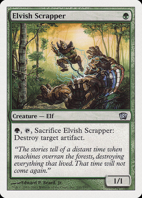 Elvish Scrapper [Eighth Edition] | Gamers Grove