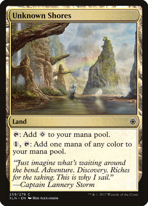 Unknown Shores [Ixalan] | Gamers Grove
