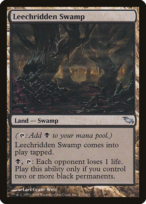 Leechridden Swamp [Shadowmoor] | Gamers Grove