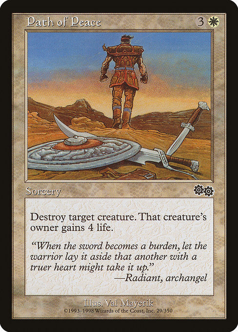 Path of Peace [Urza's Saga] | Gamers Grove