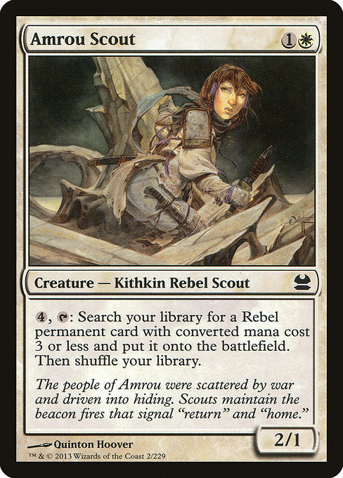 Amrou Scout [Modern Masters] | Gamers Grove