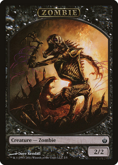 Zombie [Mirrodin Besieged Tokens] | Gamers Grove