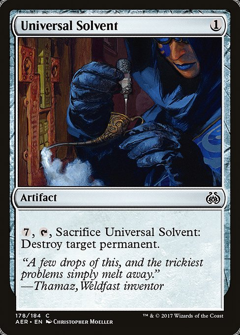 Universal Solvent [Aether Revolt] | Gamers Grove