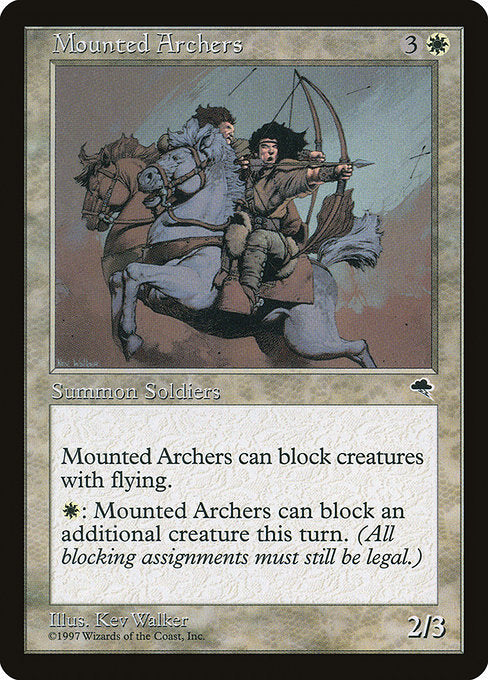 Mounted Archers [Tempest] | Gamers Grove