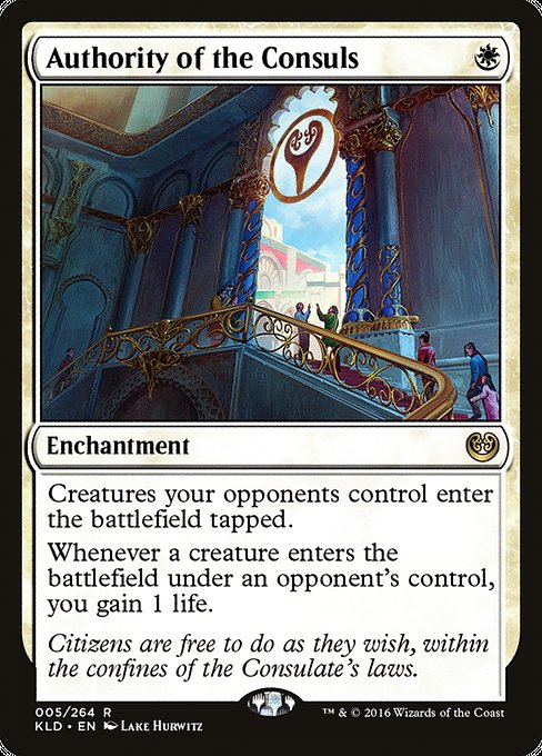 Authority of the Consuls [Kaladesh] | Gamers Grove