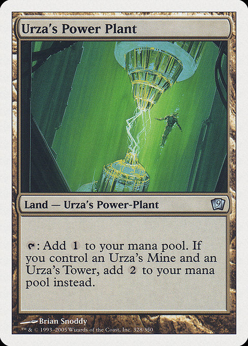 Urza's Power Plant [Ninth Edition] | Gamers Grove