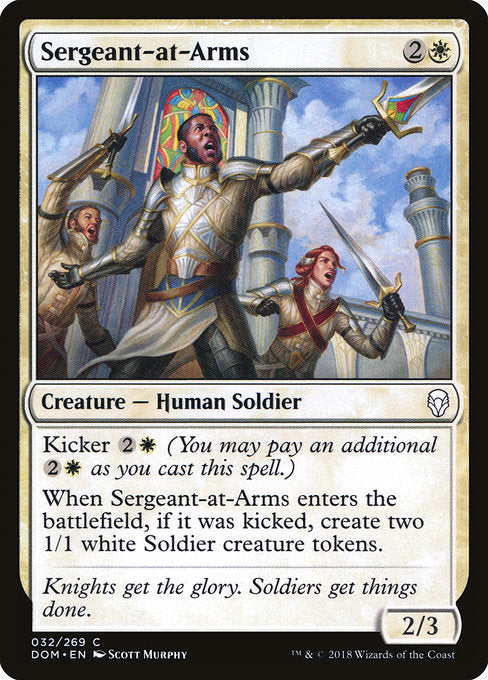 Sergeant-at-Arms [Dominaria] | Gamers Grove
