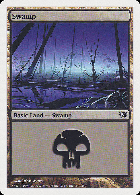 Swamp [Ninth Edition] | Gamers Grove