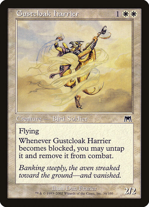Gustcloak Harrier [Onslaught] | Gamers Grove