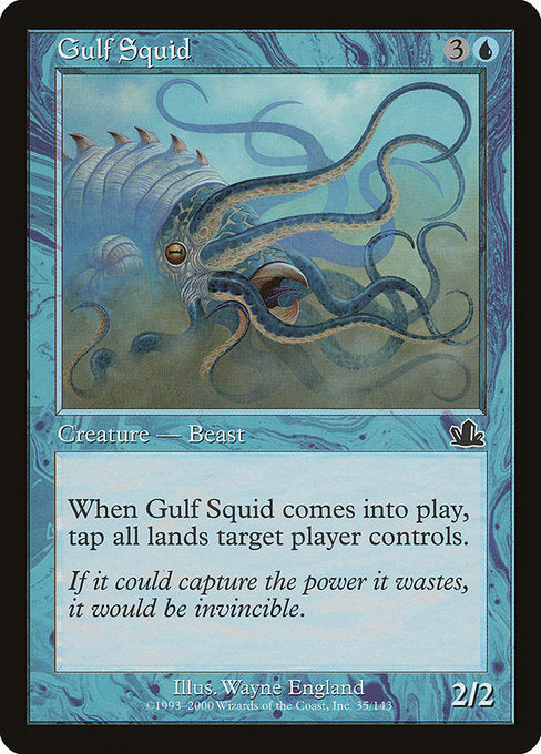 Gulf Squid [Prophecy] | Gamers Grove