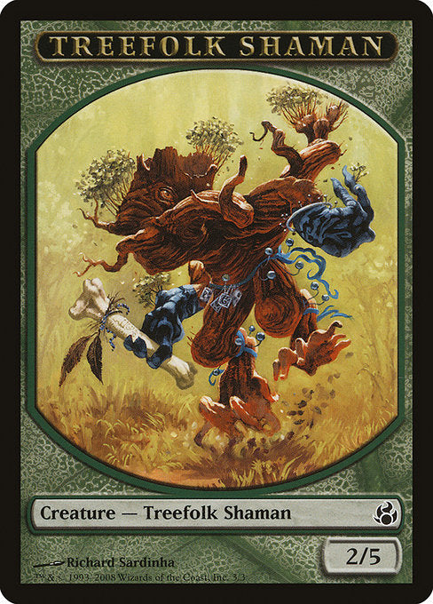 Treefolk Shaman [Morningtide Tokens] | Gamers Grove