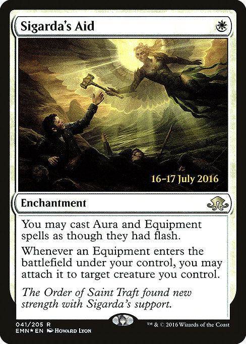 Sigarda's Aid [Eldritch Moon Promos] | Gamers Grove