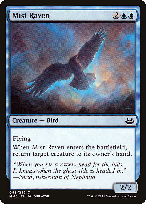 Mist Raven [Modern Masters 2017] | Gamers Grove