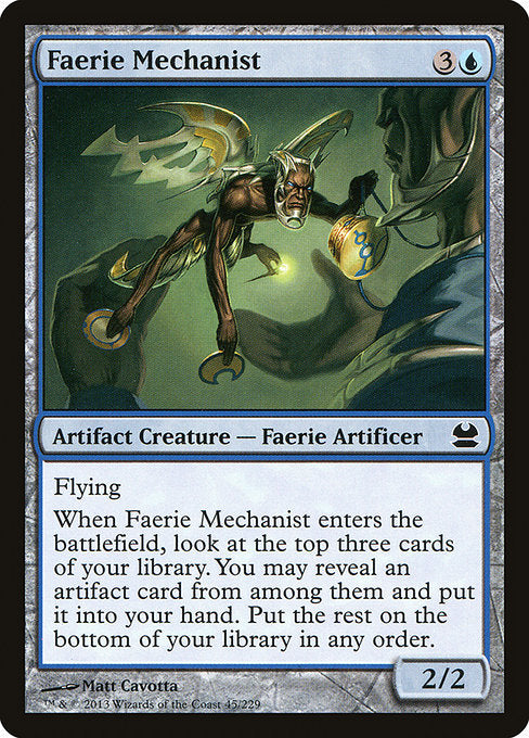 Faerie Mechanist [Modern Masters] | Gamers Grove