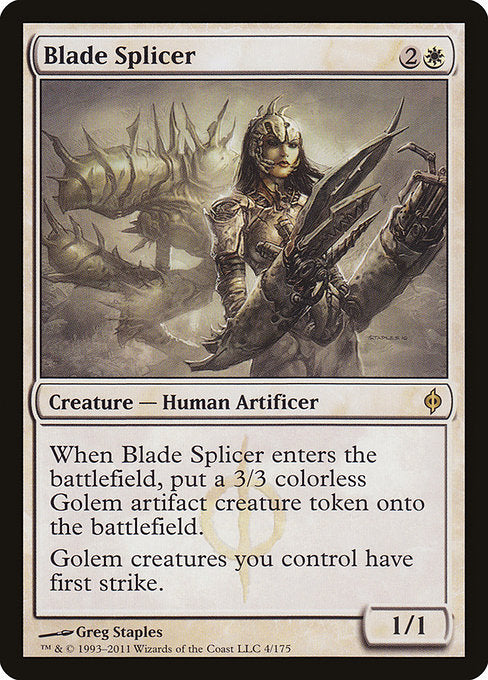 Blade Splicer [New Phyrexia] | Gamers Grove