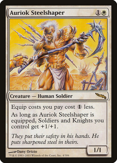 Auriok Steelshaper [Mirrodin] | Gamers Grove