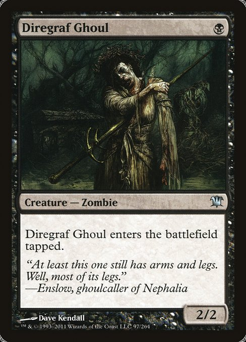 Diregraf Ghoul [Innistrad] | Gamers Grove