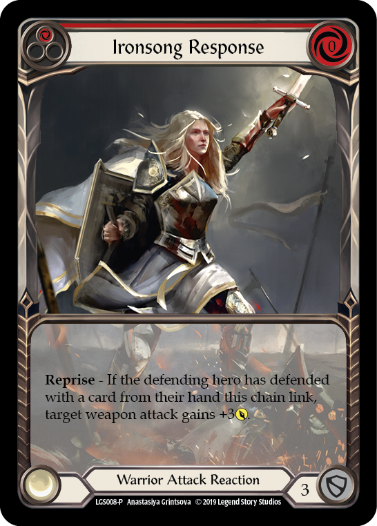 Ironsong Response (Red) [LGS008-P] Normal | Gamers Grove