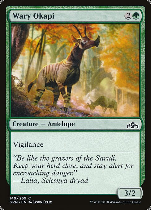 Wary Okapi [Guilds of Ravnica] | Gamers Grove