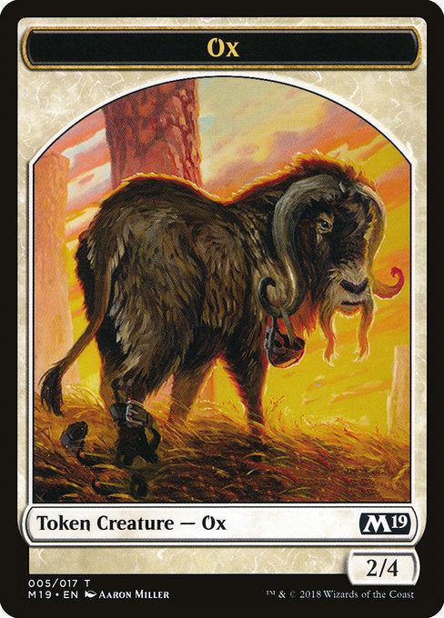 Ox [Core Set 2019 Tokens] | Gamers Grove