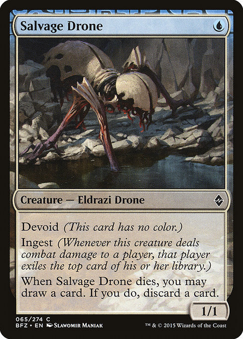Salvage Drone [Battle for Zendikar] | Gamers Grove
