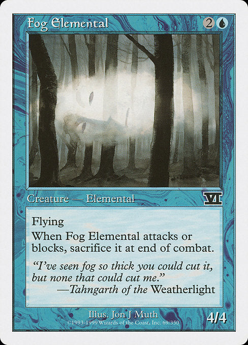 Fog Elemental [Classic Sixth Edition] | Gamers Grove