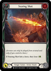 Searing Shot (Red) [ARC069] Unlimited Edition Rainbow Foil | Gamers Grove