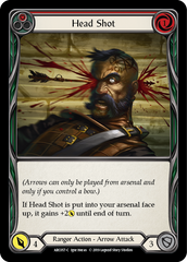 Head Shot (Red) [ARC057-C] 1st Edition Rainbow Foil | Gamers Grove