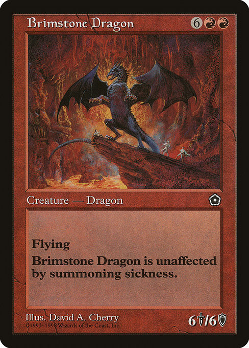 Brimstone Dragon [Portal Second Age] | Gamers Grove