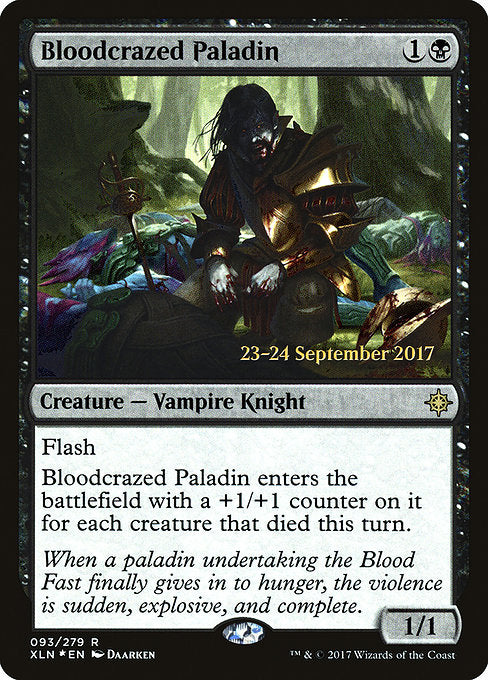 Bloodcrazed Paladin [Ixalan Promos] | Gamers Grove