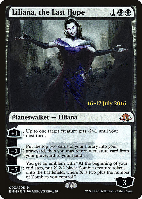 Liliana, the Last Hope [Eldritch Moon Promos] | Gamers Grove