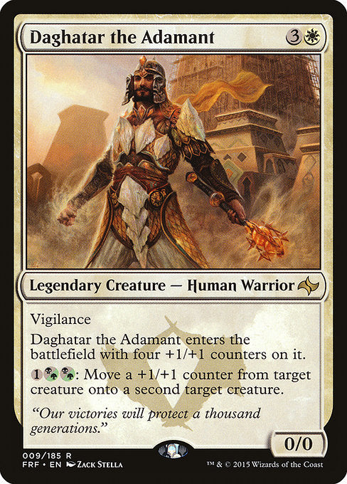Daghatar the Adamant [Fate Reforged] | Gamers Grove
