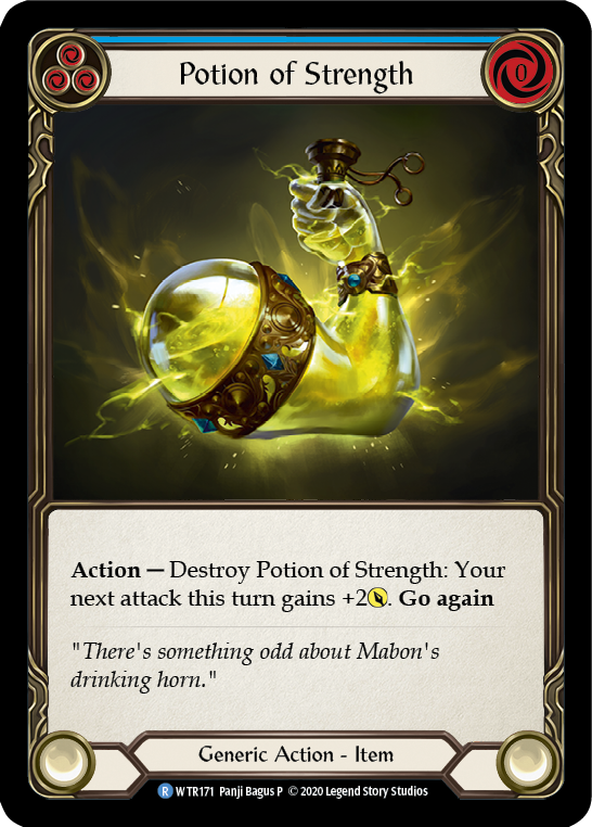 Potion of Strength [WTR171] Unlimited Edition Rainbow Foil | Gamers Grove