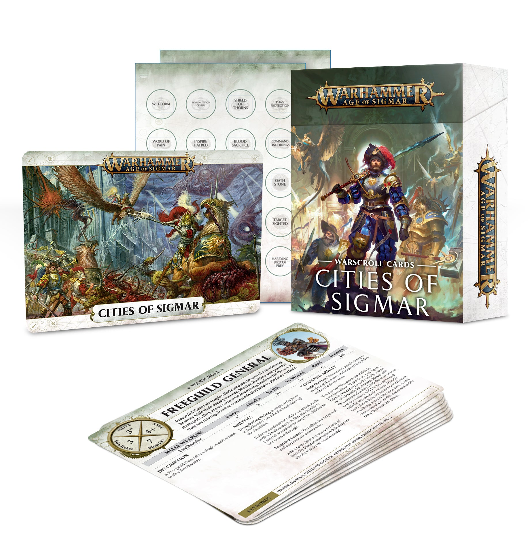 Age of Sigmar - Warscroll Cards: Cities of Sigmar | Gamers Grove