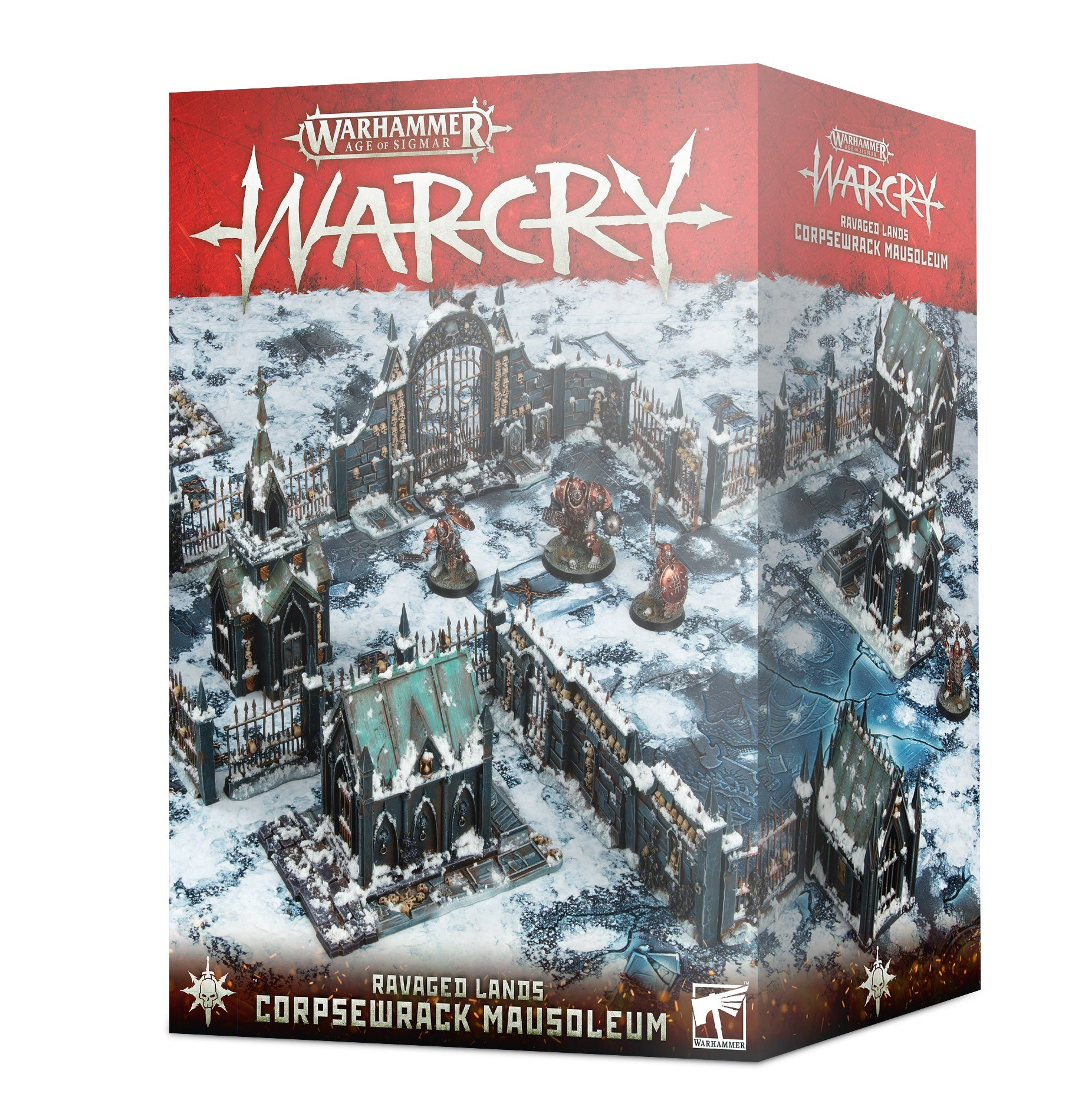 Warhammer Age of Sigmar: Warcry - Corpsewrack Mausoleum | Gamers Grove