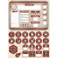 D&D Token Set - Barbarian - Contents | Gamers Grove