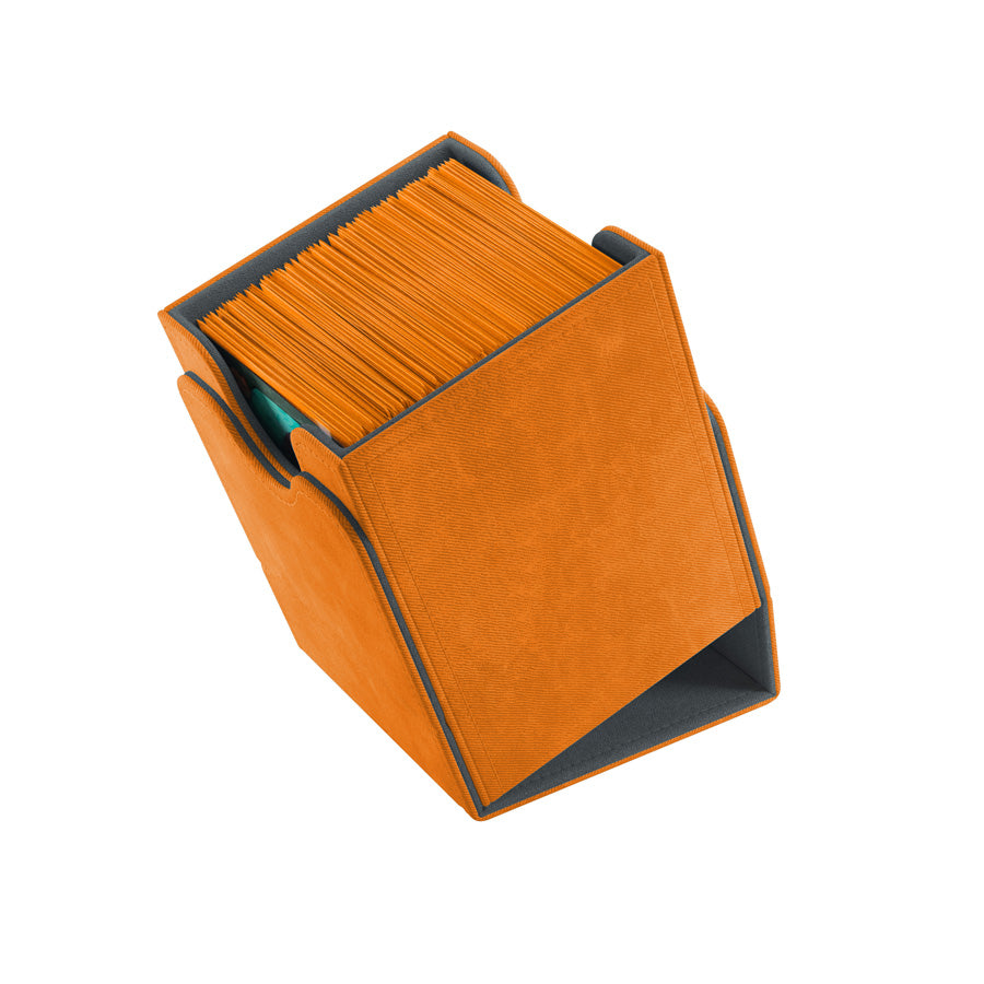 GameGenic - Squire Deck Box 100+  Orange | Gamers Grove