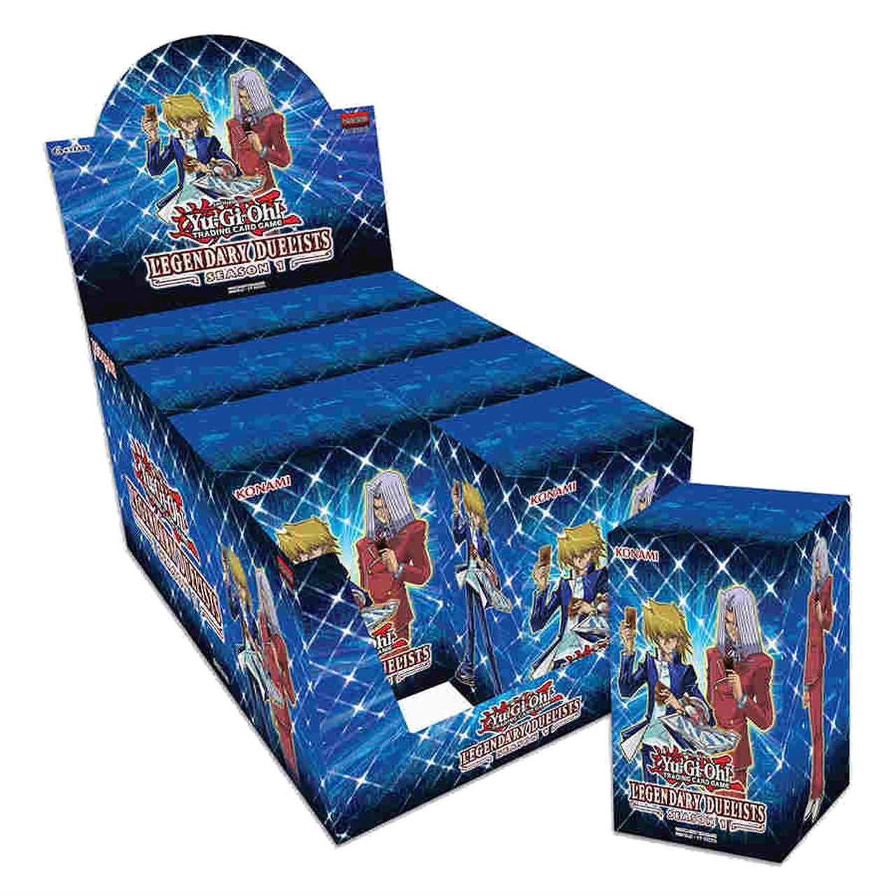 Yu-Gi-Oh: Legendary Duelists Season 1 Display Box (8) | Gamers Grove