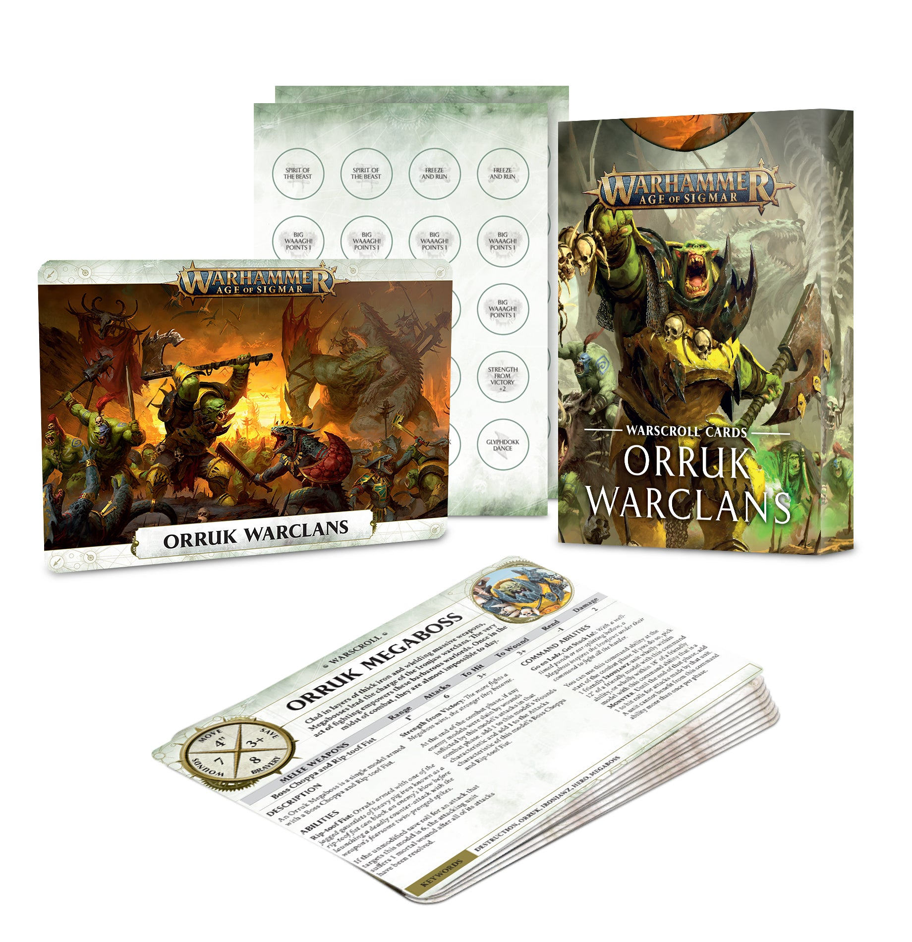 Warscroll Cards: Orruk Warclans | Gamers Grove