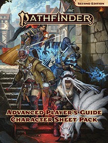 Pathfinder 2nd Edition: Advanced Player's Guide Character Sheet Pack | Gamers Grove