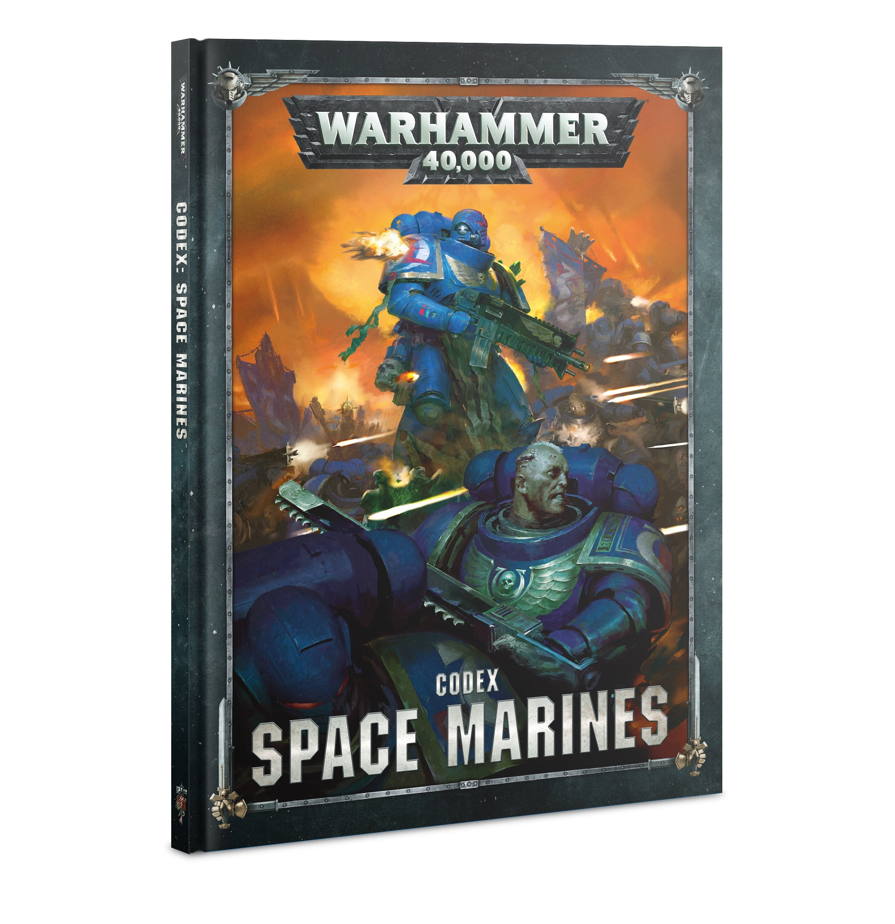 Warhammer 40K: Codex - Space Marines - 2019 (Hardcover) | Gamers Grove