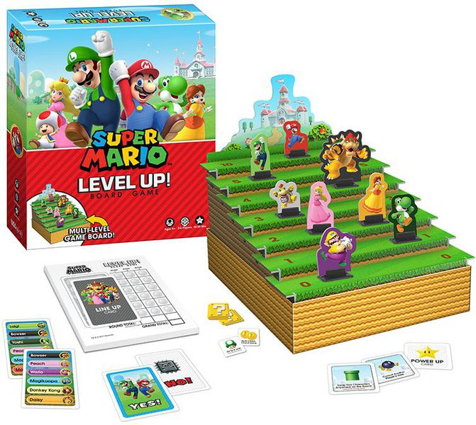 Super Mario: Level Up! Board Game | Gamers Grove