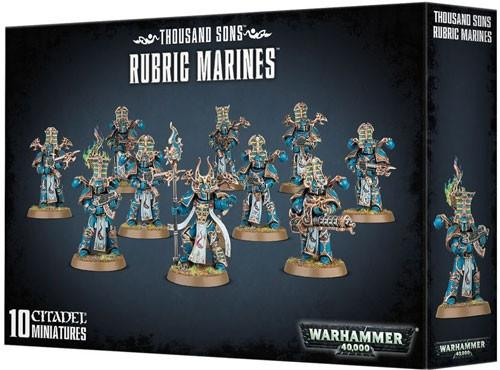 Warhammer 40K: Thousand Sons - Rubric Marines