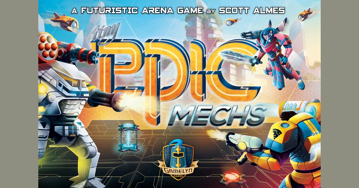Tiny Epic Mechs | Gamers Grove