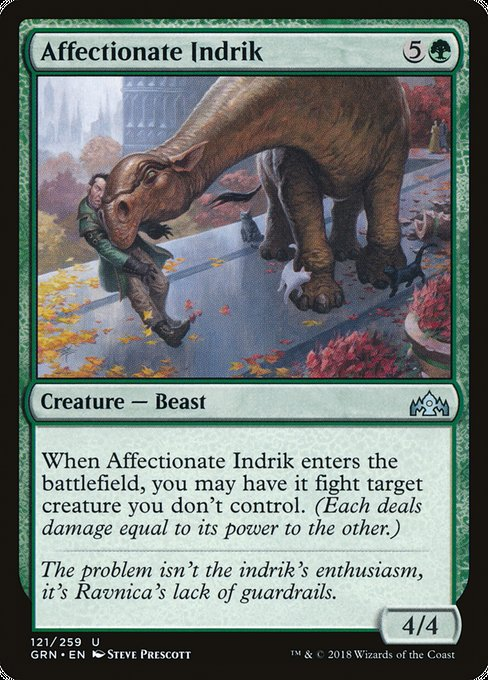 Affectionate Indrik [Guilds of Ravnica] | Gamers Grove