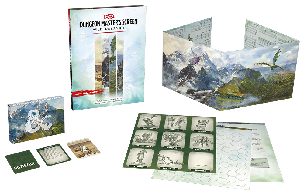Dungeons & Dragons 5th Edition: Dungeon Master's Screen - Wilderness Kit | Gamers Grove