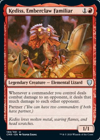 Kedniss, Emberclaw Familiar [Commander Legends] | Gamers Grove