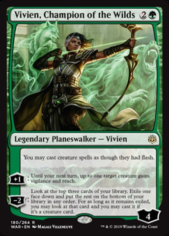 Vivien, Champion of the Wilds [War of the Spark]