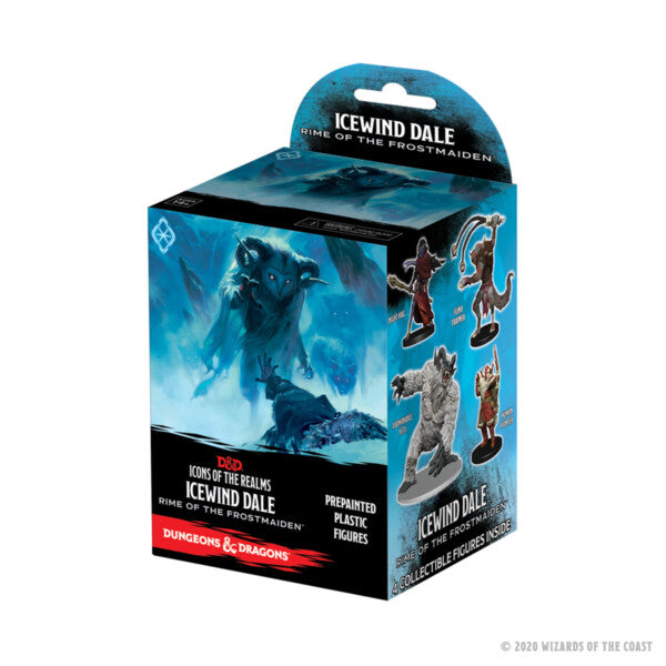 D&D Icons of the Realms Miniatures: Icewind Dale Rime of the Frostmaiden Booster Pack | Gamers Grove