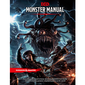 Dungeons & Dragons 5th Edition: Monster Manual | Gamers Grove